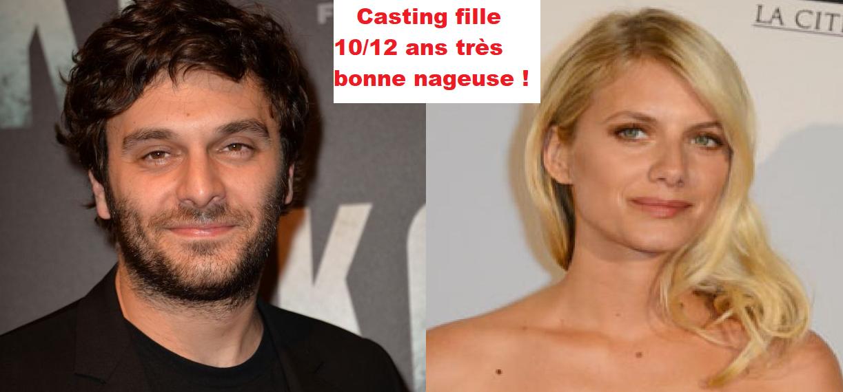 Casting fille 10 à 12 ans très bonne nageuse pour film avec Mélanie Laurent et Piot Marmaï
