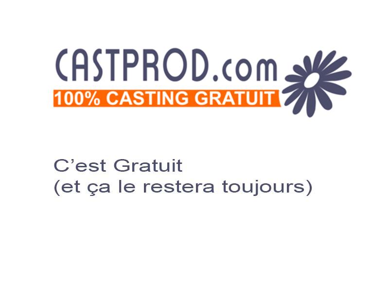 Nouvelle version du site internet, mais les castings restent gratuits !