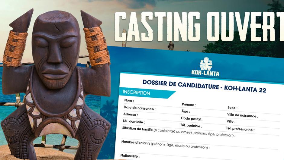 Koh-Lanta 2022 : le casting est ouvert !