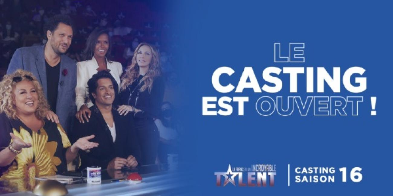 Le casting 2021 de la France a un incroyable talent revient !