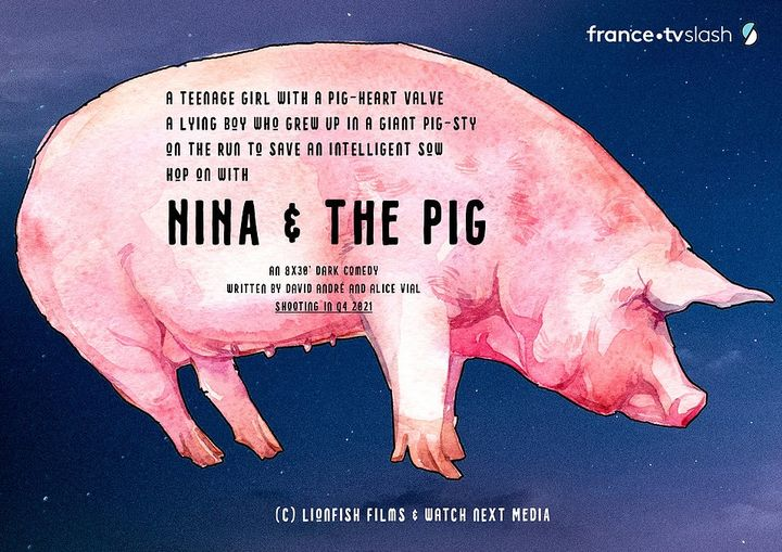 Casting nina and the pig